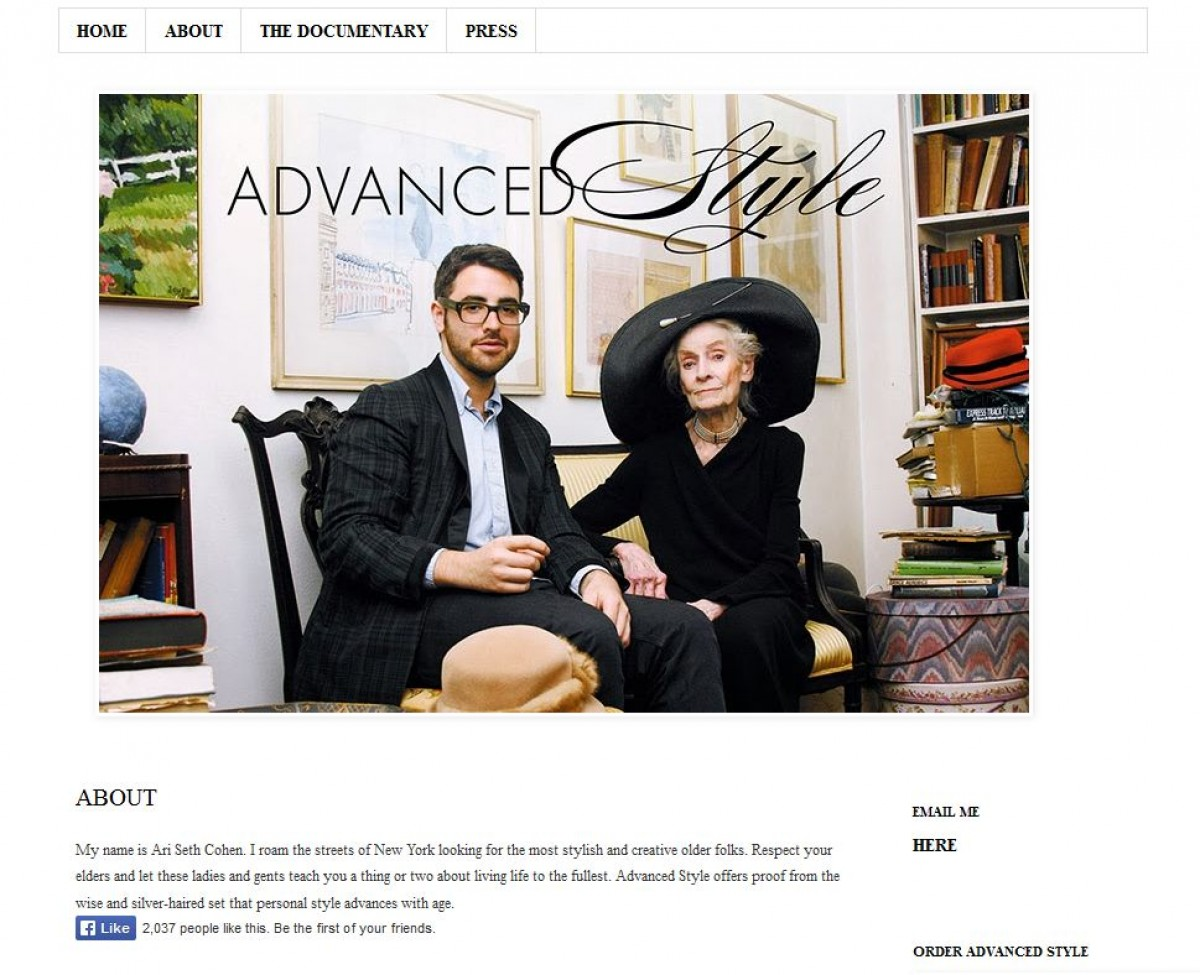 AdvancedStyle for example aims at elder people dressed nicely